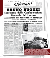 prima pagina avanti uccisione bruno buozzi